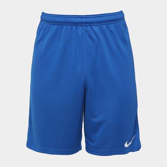 Calção Nike Dry Squad Masculino - Azul e Branco - Compre Agora ... 9f75514d67698
