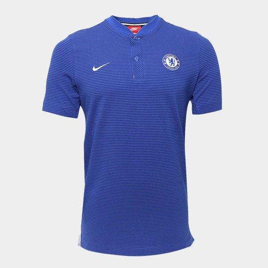 Camisa Polo Chelsea Nike Modern Masculina - Compre Agora  7c2939bb384db