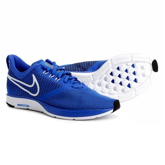 c99f0105090 Tênis Nike Zoom Strike Masculino - Azul+Branco. Loading.