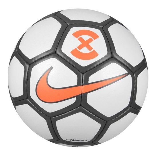 6570c8bf5049e Bola Futsal Nike Premier X - Branco e Cinza - Compre Agora