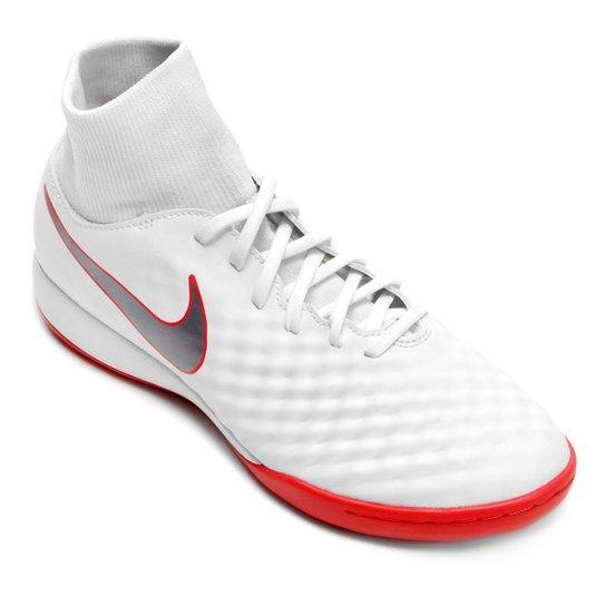 ... DF TF - Adulto e25aa69d524a74  Chuteira Futsal Nike Magista Obra 2  Academy Dinamic Fit Masculina - Branco+Cinza d1b6cad84d8eca ... 1c3f7760f7a87