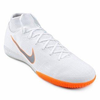 Compre Chuteira Nike Mercurial Branca Com Rosa Online  8371b64be9f10