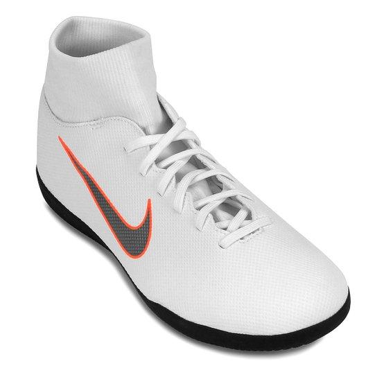 ... Chuteira Futsal Nike Mercurial Superfly 6 Club Masculina - Branco e . dc55752466