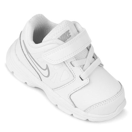 11b99022b Tênis Infantil Nike Downshifter 6 Ltr Masculino - Branco e Cinza ...