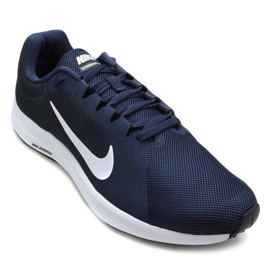 Tênis Nike Downshifter 8 Masculino - Azul e Branco - Compre Agora ... 8cd0a7bf65ec3