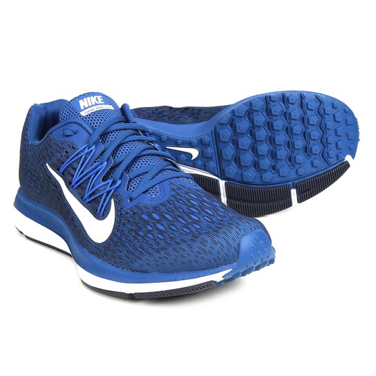 c78fb1b7497 Tênis Nike Zoom Winflo 5 Masculino - Azul e Branco - Compre Agora ...