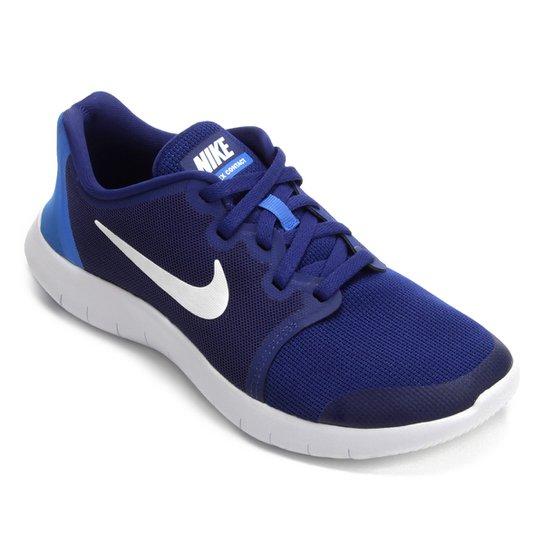 0cf80c511ceff Tênis Infantil Nike Flex Contact 2 - Azul e Branco - Compre Agora ...