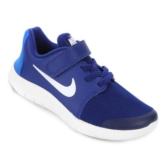 09e713c61e088 Tênis Infantil Nike Flex Contact 2 - Azul e Branco - Compre Agora ...