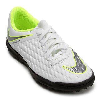 4a5c96b7d8 Chuteira Society Infantil Nike Hypervenom Phantom 3 Club TF