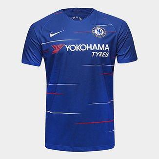 cd3588546d Camisa Chelsea Home 18 19 s n° Torcedor Nike Masculina
