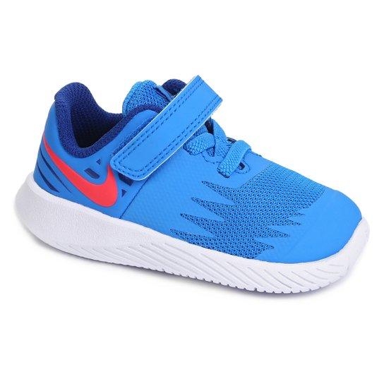 Tênis Infantil Nike Star Runner - Azul e Branco - Compre Agora ... 2d0a014f8e21b