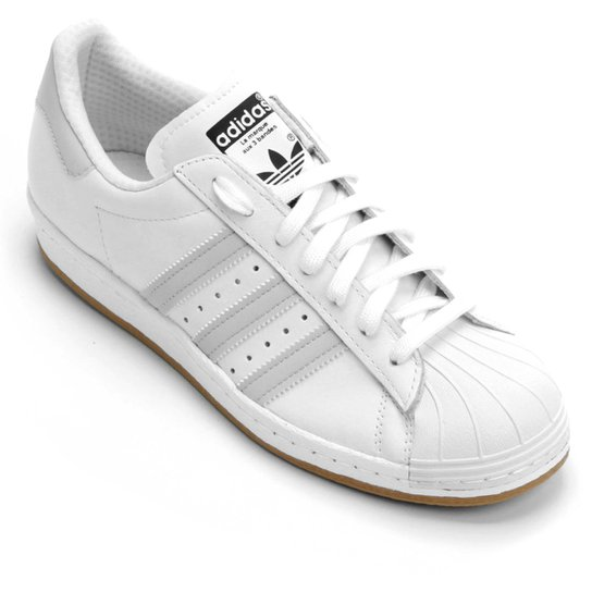Tênis Adidas Superstar Nj - Compre Agora  9a7a2df84ad38