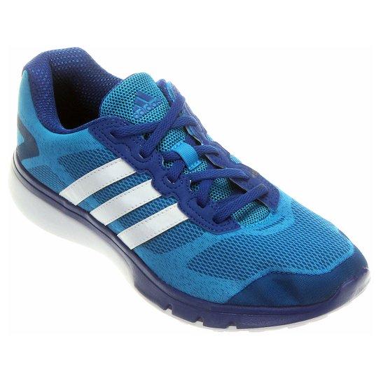 3b7370af2a0 Tênis Adidas Turbo - Azul Claro+Azul