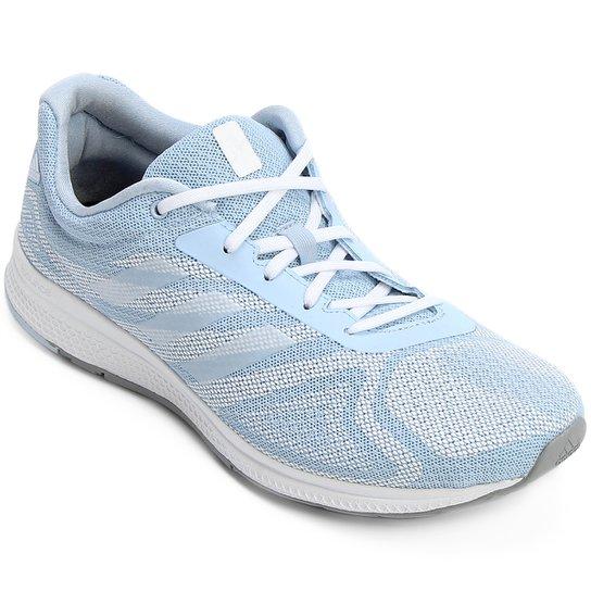 3d728d149e3 Tênis Adidas Mana Bounce Feminino - Azul e Branco - Compre Agora ...