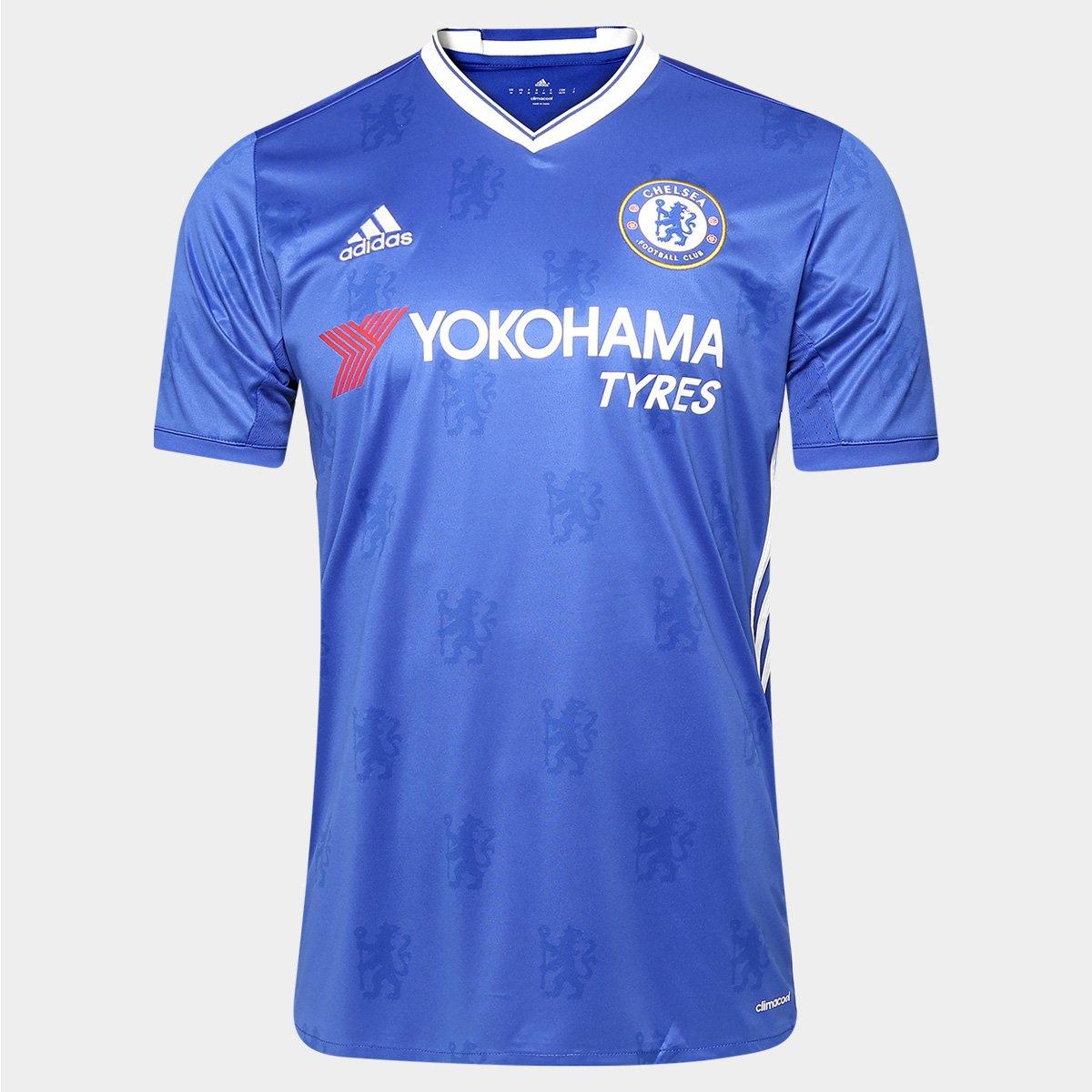 Camisa Chelsea Home 16 17 s nº - Torcedor Adidas Masculina 534dbd9da1831