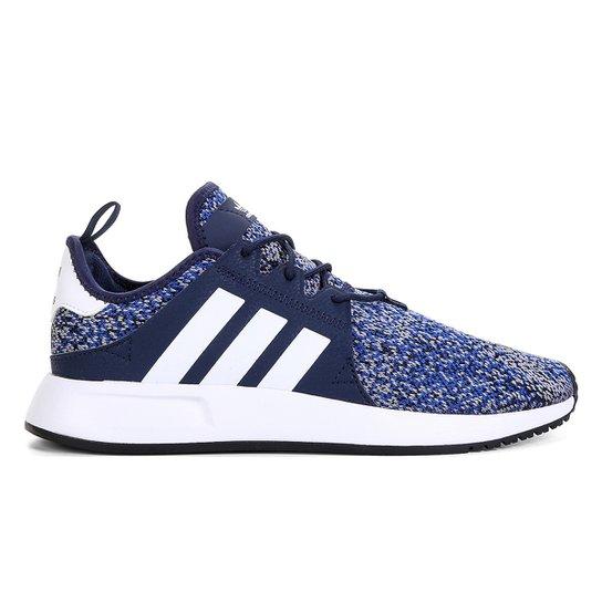 726f92323de9d Tênis Adidas X PLR - Azul e Branco - Compre Agora