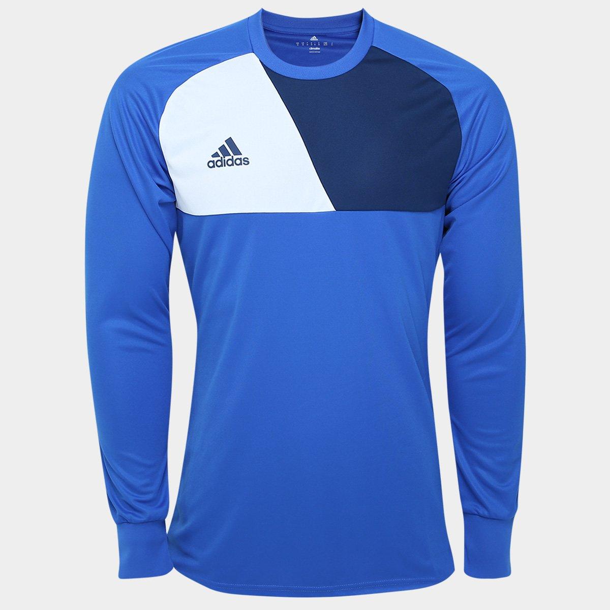 Camisa de Goleiro Adidas Assista 17 Masculina  34269c50dc7e2