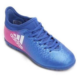5a61528ca0fba Chuteira Adidas X 16.3 TF Society Juvenil