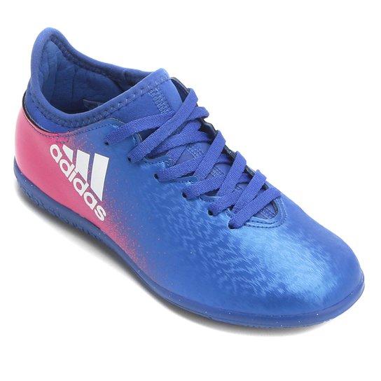 Chuteira Futsal Infantil Adidas X 16.3 IN - Compre Agora  ab8998f33ab02