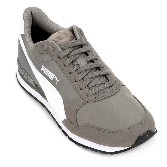 Tênis Puma St Runner V2 Nl - Branco e Cinza - Compre Agora  8debf2eddd6cd