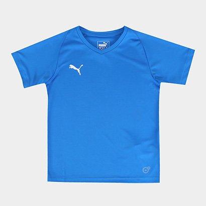 Camisa Infantil Puma Liga Jersey Core