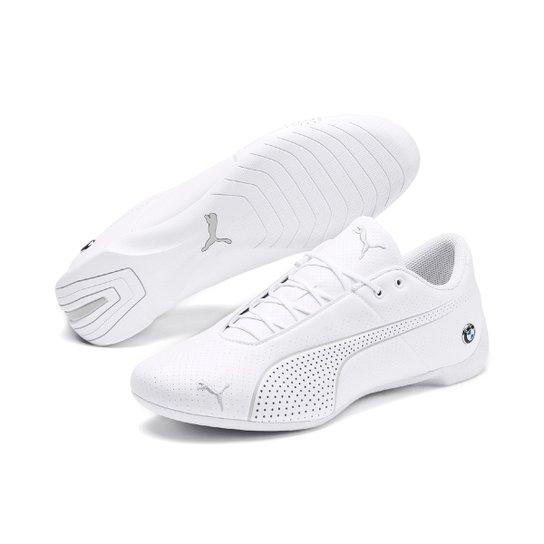 86ce0931e4582 Tênis Puma BMW MMS Future Cat Ultra - Branco e Cinza   Netshoes