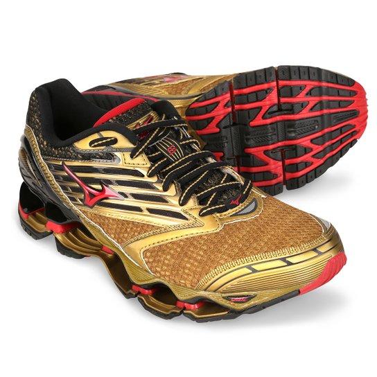 Tênis Mizuno Wave Prophecy 5 Golden Runners - Compre Agora  65ab5fc186d0a