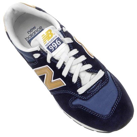 0d612703352 ... Tênis New Balance 996 Revlite - Marinho+Branco. LANÇAMENTO