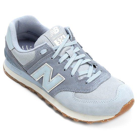 ad26733b9987a Tênis New Balance 574 Global Surf - Azul e Branco - Compre Agora ...