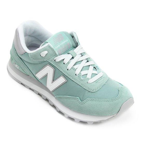 ec1cca82170 Tênis New Balance 515 W Feminino - Azul Piscina+Branco