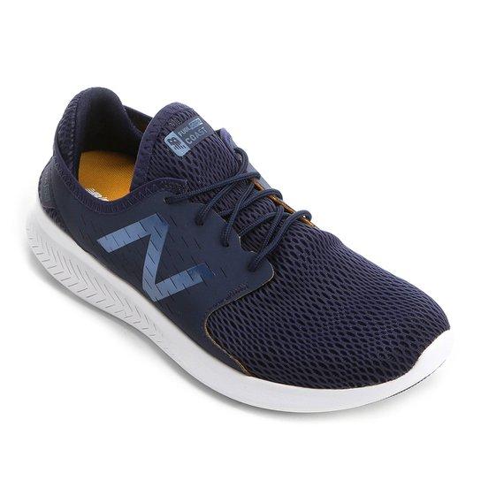e1c95b9167 Tênis New Balance Coast V3 Masculino - Azul e Branco - Compre Agora ...