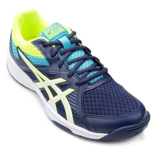Tênis Asics Upcourt 3 Feminino - Azul e Branco - Compre Agora   Netshoes 4721ef8a65