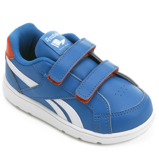 2487741a371 Tênis Reebok Royal Prime ALT Infantil - Azul e Branco - Compre Agora ...
