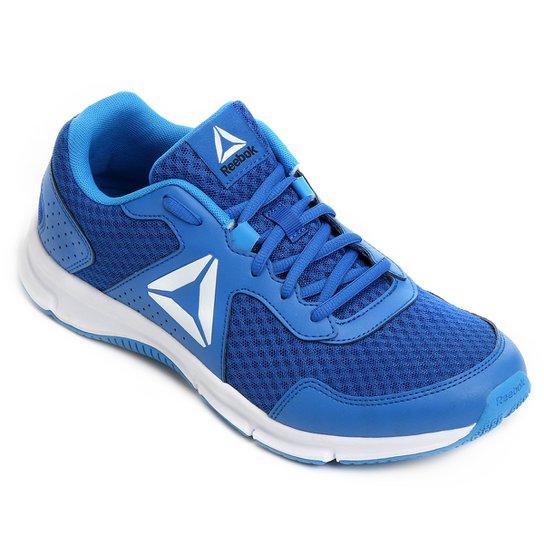 Tênis Reebok Canton Runner Masculino - Azul e Branco - Compre Agora ... 4d473449df2a9