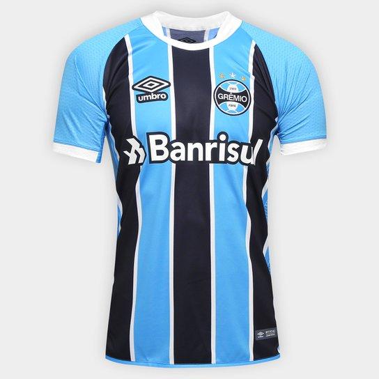 96a2a857dbba5 Camisa Grêmio I 17 18 s nº Jogador Umbro Masculina - Compre Agora ...