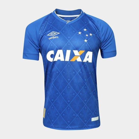 128a61f456 Camisa Cruzeiro I 17 18 s nº Torcedor Umbro Masculina - Compre Agora ...