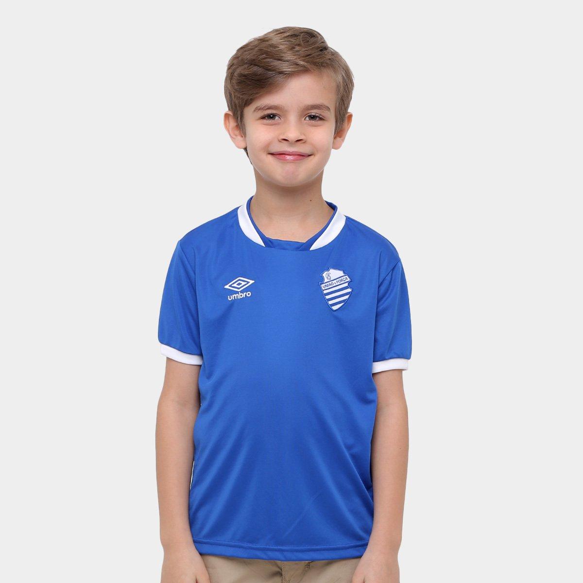 Camisa CSA Infantil I 2016 n° 10 - Torcedor Umbro 5da1808529173