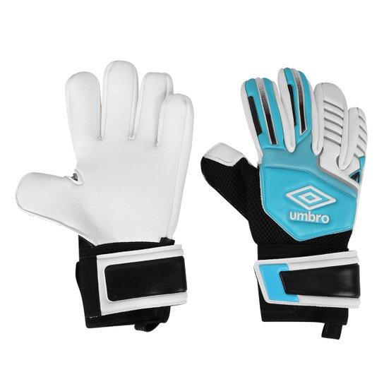 693b1f4f66937 Luva de Goleiro Umbro Neo Pro Campo - Azul e Branco - Compre Agora ...