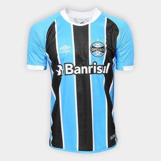 0238e39cc Camisa Grêmio I 17 18 s n° Torcedor Umbro Masculina - Compre Agora ...