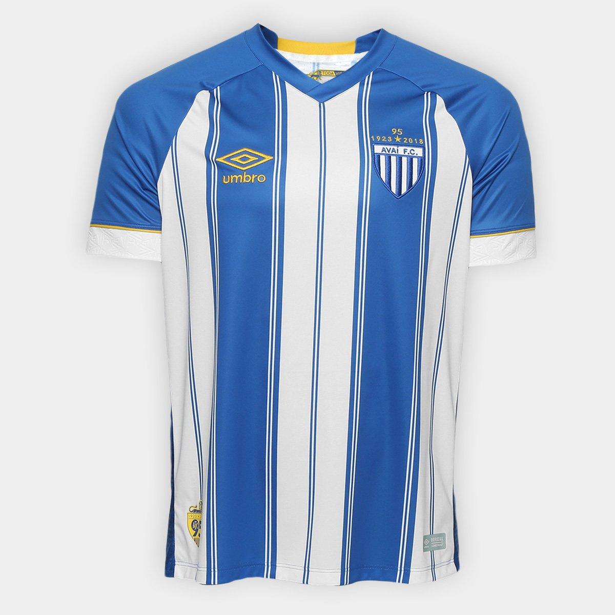 5aa5625902960 Camisa Avaí I 18/19 s/n° Torcedor Umbro Masculino