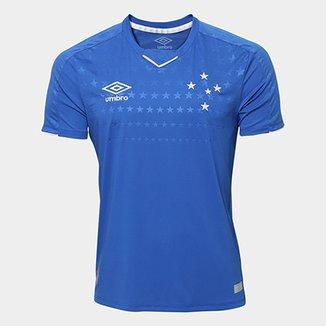 5e996e6965353 Camisa do Cruzeiro I 19 20 s n° Torcedor Umbro Masculina
