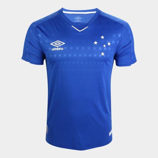 42f9636dfeadc Camisa do Cruzeiro I 19 20 s n° Jogador Umbro Masculina - Azul e ...