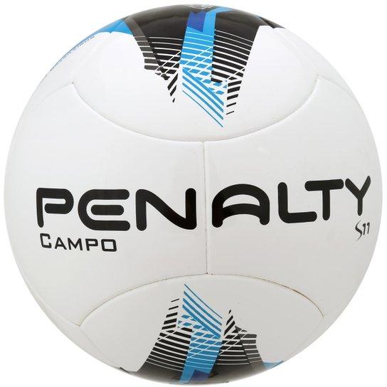 Bola Penalty S11 R3 Ultra Fusion 5 Campo - Azul Claro+Preto 1fcec55ec573e