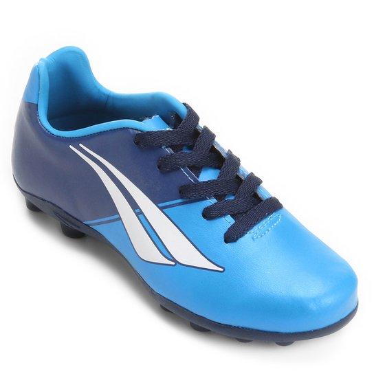 Chuteira Campo Infantil Penalty Matis K Soccer 7 - Azul e Marinho ... f05fa23241006