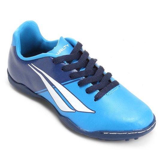 Chuteira Society Infantil Penalty Matis K Soccer 7 - Azul e Marinho ... 0ef556482ab6c