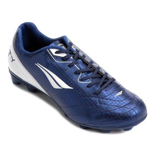 Chuteira Campo Penalty Matis VIII - Azul e Branco - Compre Agora ... 1f1056a9af6b4