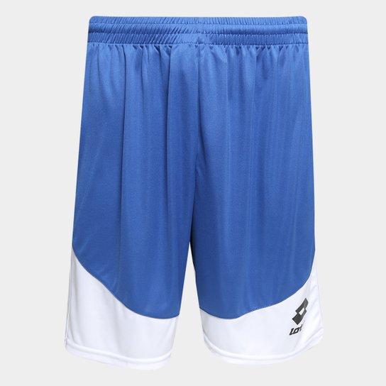 591a498198 Calção Lotto Vivid Masculino - Azul e Branco - Compre Agora