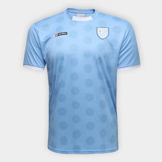 1f46738b2a Camisa Uruguai n° 09 Lotto Masculina - Compre Agora
