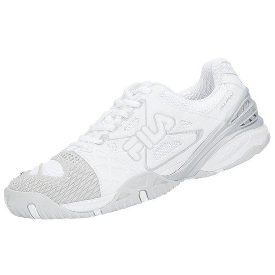 b8068bac3 Tênis Fila Cage Delirium Indoor 4 - Branco e Cinza | Netshoes