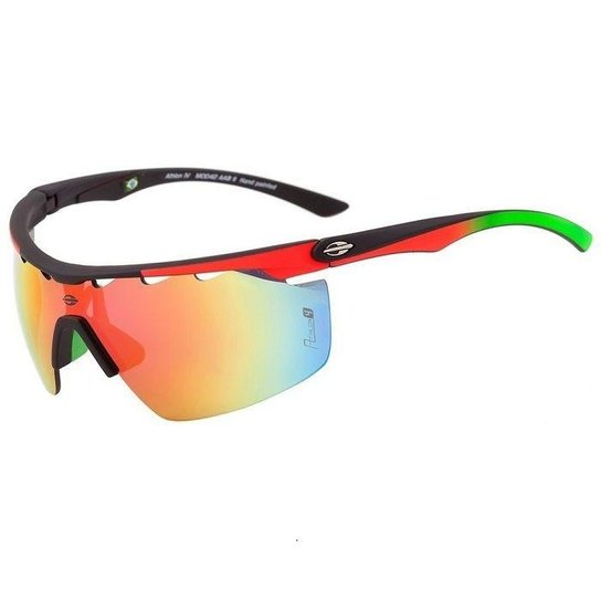 b9181ba3d260c Óculos de sol Mormaii Athlon 4 Preto - Azul e Branco - Compre Agora ...